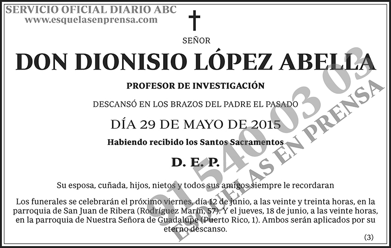 Dionisio López Abella